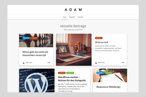 ADAM Wordpress Theme